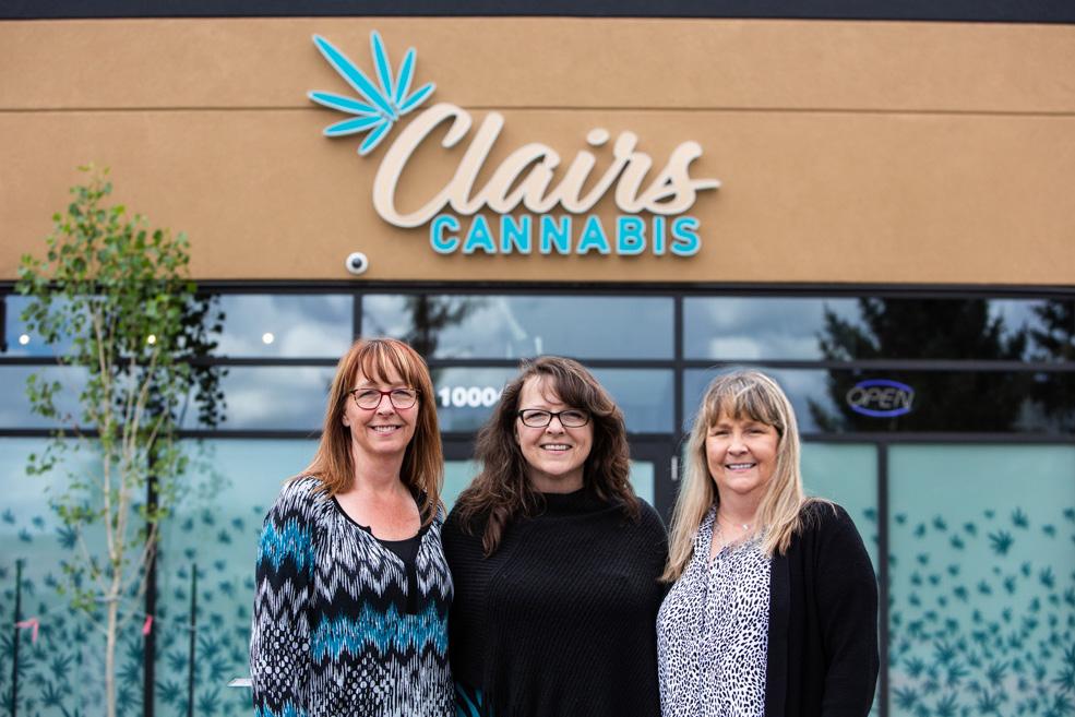 clairs-cannabis-edmonton-clair-sisters